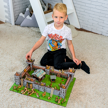 Замок-конструктор MINI 3D-2 Nestwood, 520х310мм