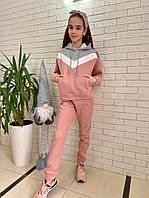 Детский тёпленький спортивный костюм для девочки . Р.134-158. Новый., фото 1