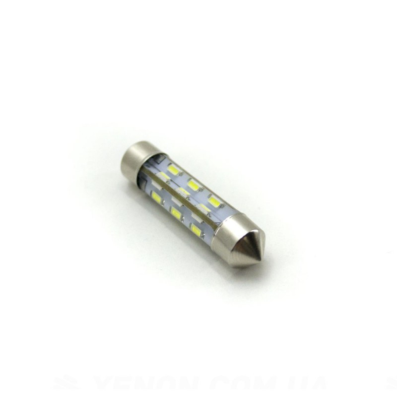 LED Galaxy C5W ( SV8,5 ) 3014 24SMD 41mm White (Белый)