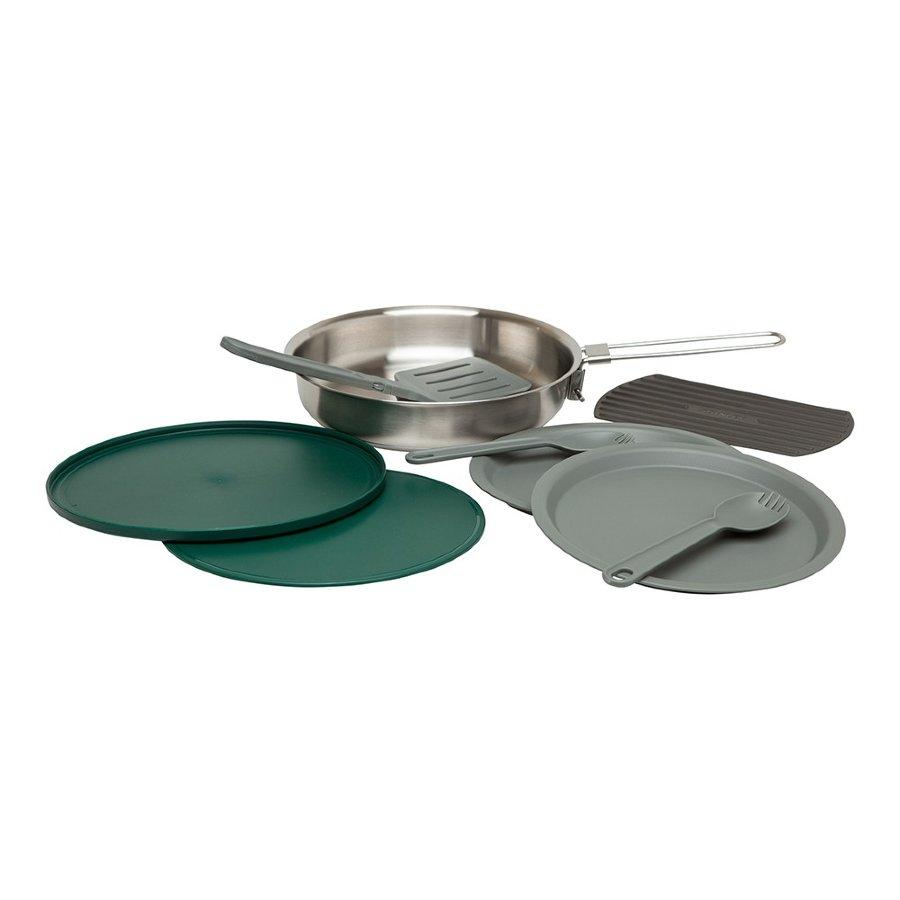 Набір туристичного посуду Stanley Adventure SS: пательня та аксесуари