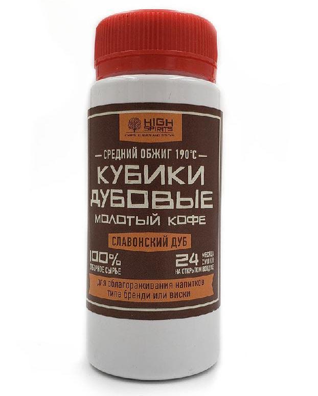 Дубові кубики «Мелена кава» 40 гр