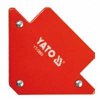Магнитный угольник для сварки 11кг 45%, 90%, 135% YATO YT-0863