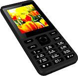 """Кнопочный телефон с мощной батареей и камерой на 2 сим карты Nomi i249 Black 2,4"""" АКБ 1700 мА*ч, фото 8"""
