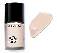 Тональный крем Long Cover Fluid (Alabaster) PAESE, 30 мл