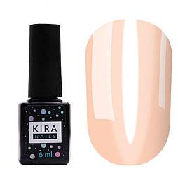 Гель-лак Kira Nails Vitrage V19 (персиковий) 6мл