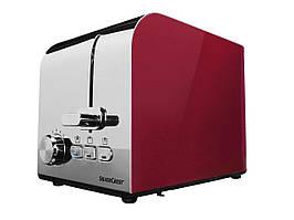 Німецький тостер SilverCrest STS 850 D1 red metallic