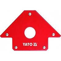Магнитный угольник для сварки 23 кг 45%, 90%, 135% YATO YT-0864
