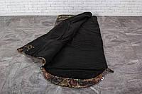 Спальный мешок до -20 С, зимний спальник на флисе, спальник с капюшоном, туристический, теплый , рыбацкий