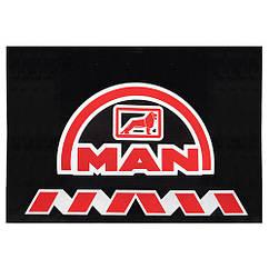 Брызговики для грузовых машин 330х470мм (MAN) 2шт