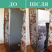 Как наклеить пленку ПВХ на холодильник (инструкция по монтажу)