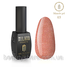 Гель-лак Milano Miracle №3 8ml