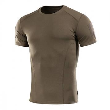 M-Tac футболка потоотводящая Athletic Velcro Olive
