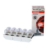 OSRAM 7528 Лампочки P21/5W  12v (поворот двух контактные)