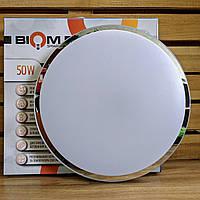 Светильник люстра с пультом светодиодный 50Вт BIOM SMART SML-R18-50
