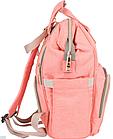 ОПТ Сумка-рюкзак для мам lequeen Mom Bag вмещающий 25 предметов для  ребёнка, фото 3