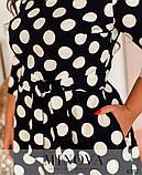 Романтичне плаття батал з квітковим принтом Розміри: 50,52,54,56, фото 2