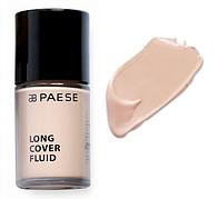 Тональный крем Long Cover Fluid (01, светлый беж) PAESE, 30 мл