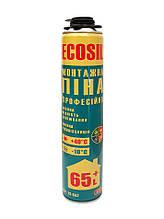 Пена монтажная профессиональная ECOSIL 850 гр , 750 мл, выход 65+