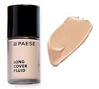 Тональный крем Long Cover Fluid (1.5, бежевый) PAESE, 30 мл