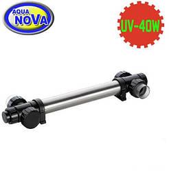УФ - стерилізатор для ставка AquaNova NUVC-40 корпус нерж.