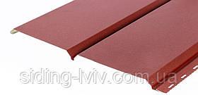 Металевий софіт для підшивки даху Словаччина RAL 3005 перферована / гладка