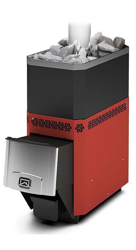 Дровяная печь-каменка Теплодар Русь 18 Л объем парилки 12-18 м.куб, вес камней 90 кг, нагрев воды