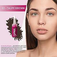 "Хна для бровей ""ZOLA Henna"", 03 taupe brown, 5 грамм, фото 1"