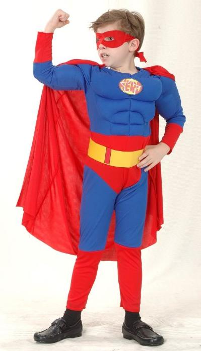Праздничный карнавальный костюм Супермен для мальчика - Superman, Superhero, Carnival, Costume, Disney