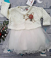 Детское платье нарядное с болеро, фото 1