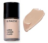Тональный крем Long Cover Fluid (02, натуральный) PAESE, 30 мл