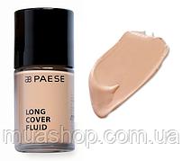 Тональный крем Long Cover Fluid (03, золотой беж) PAESE, 30 мл