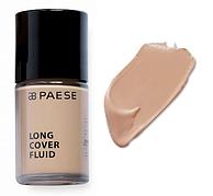 Тональный крем Long Cover Fluid (04, загорелый) PAESE, 30 мл