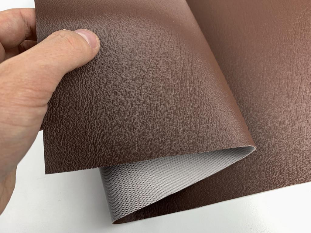 Морской кожвинил MARINE 8454 (орехово-коричневый) для катеров, яхт, обивка мебели, ширина 1,40м