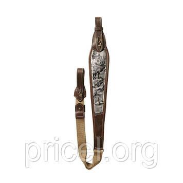 Ремень оружия Riserva Олень Metal collection кожа (R7002)