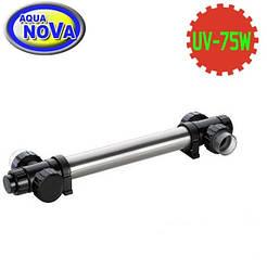 УФ - стерилізатор для ставка AquaNova NUVC-75 корпус нерж.