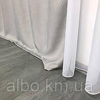 Однотонні штори з льону в кімнату спальню будинок квартиру, штори блекаут для залу спальні вітальні, штори блекаут в зал спальню, фото 7
