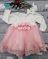 Нарядное детское пышное платье, фото 1