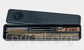 Набор для чистки оружия MegaLine 082/404.5. кал. 4.5 латунный шомпол. 2 ёршика. шерстяная пуховка. пласт.