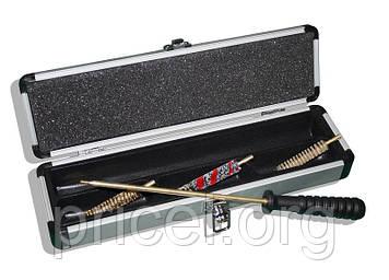 Набор для чистки оружия MegaLine 04/704.5. кал. 4.5. пистолет. латунный шомпол. 2 ёршика. шерстяная пуховка.