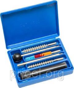 Набор для чистки оружия MegaLine 082/0022. кал. 22. Латунный шомпол. Пласт. коробка (082/0022)
