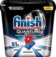 Таблетки для посудомийних машин Finish Quantum Unlimate 51 шт., фото 1