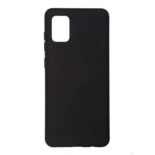 Чехол силиконовый TOTO 1mm Matt TPU Case Samsung A315 Galaxy A31 (2020), черный