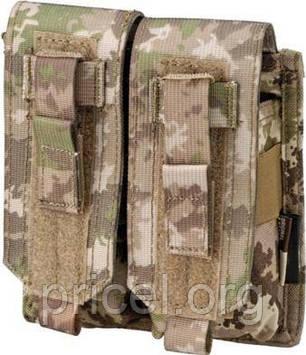 Подсумок Defcon 5 PORTA CARICATORE DOPPIO MOLLE M4/AK DOUBLE MULTILAND ц:мультилэнд (D5-M4AKD ML)