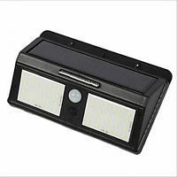 Сенсорный светильник LED-лампа на солнечной батарее Solar 40LED с датчиком движения, фото 1