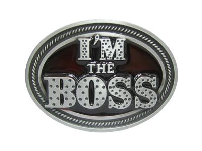 Пряжка для ременя i'm the Boss