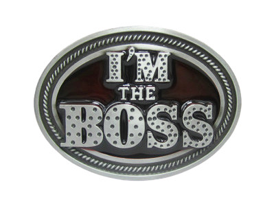 Пряжка для ремня I'm the Boss