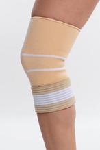 Бандаж спортивний для коліна (838561) Spokey Бежевий