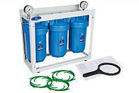 """Aquafilter Трьохступінчата система фільтрації Big Blue 10"""" HHBB10B"""