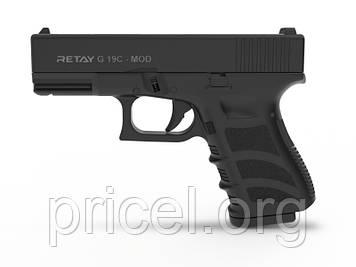 Стартовый пистолет Retay G 19C, 9мм.,14-зарядный (X614209B19)