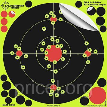 Мишень для стрельбы флюрисцентная Splatterburst Большой круг 20 см (8 дюймов)